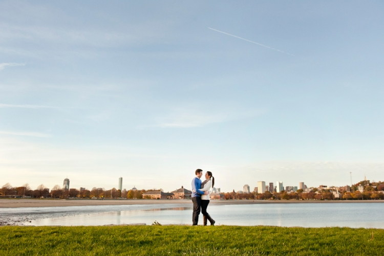 Beth Andrews Engagement Session Carson Beach South Boston